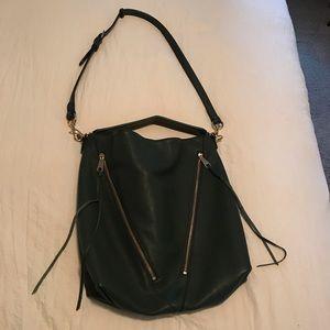 Green Rebecca Minkoff Moto Hobo Purse Bag